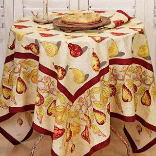 Couleur Nature Poire Square Tablecloth