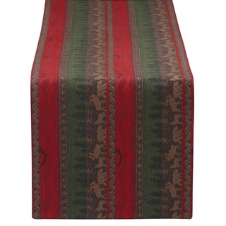 Wilderness Stripe Jacquard Table Runner