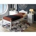 Reston Twin-size Wood Platform Bed