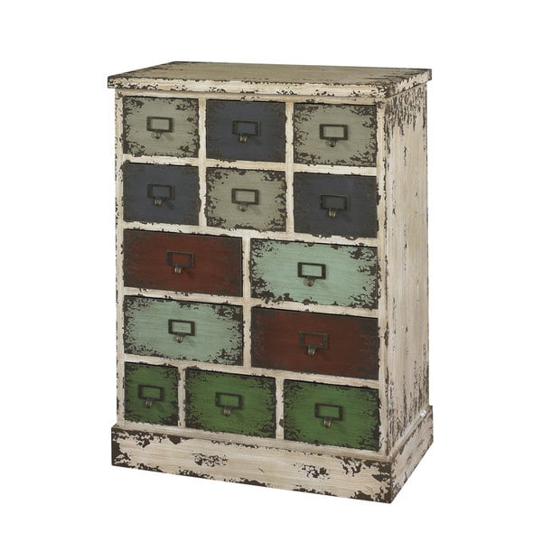 Powell Parcel 13-drawer Cabinet