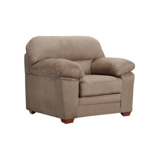 Bristol Cobblestone Microsuede Chair