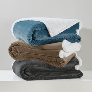 Premier Comfort Microlight Plush to Berber Blanket