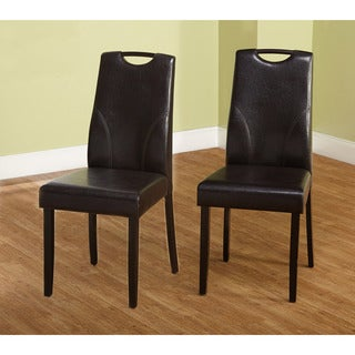 Simple Living Ruben Dining Chair, Brown (Set of 2)