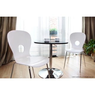 LumiSource Omega Dining/Accent Chairs (Set of 2)