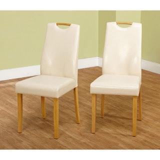 Simple Living Ruben Dining Chair, Beige (Set of 2)