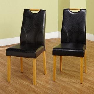 Simple Living Ruben Dining Chair, Black (Set of 2)