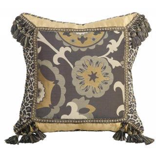 Jennifer Taylor 20-inch Espresso Decorative Throw Pillow