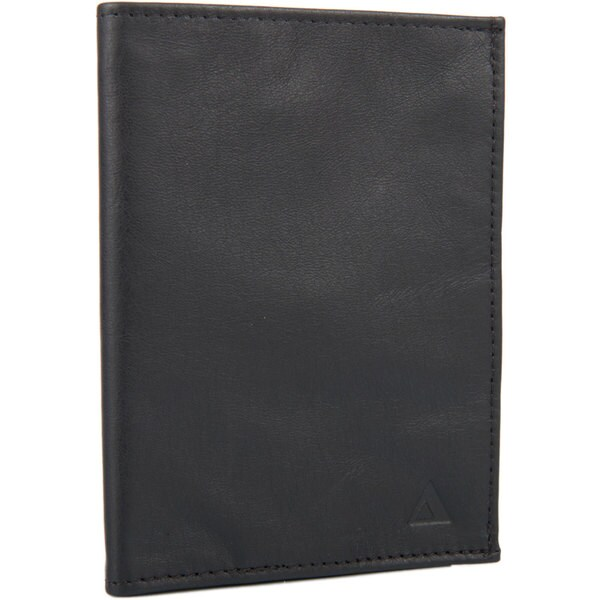 Allett Black Leather KeepSafe RFID Passport Wallet