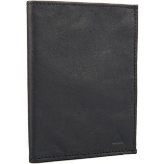 Allett Black Leather KeepSafe RFID Passport Wallet
