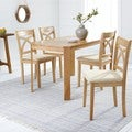 Simple Living 5-piece Verbena Light Oak Dining Set