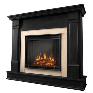 Real Flame G8600E-B Silverton Electric Fireplace