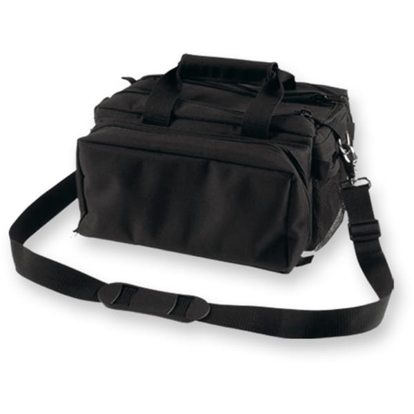 Bulldog Deluxe Black Range Bag with Strap
