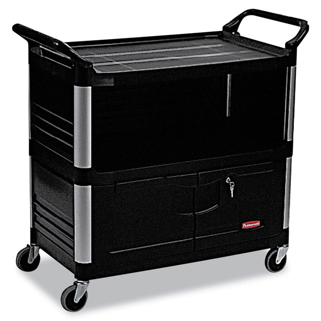 Rubbermaid Commercial Xtra 3-shelf Equipment Cart at Sears.com