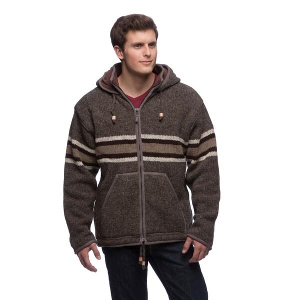 Laundromat Men's Gordie Wool Hooded Sweater