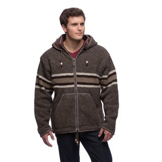Laundromat Men's Gordie Wool Hooded Sweater