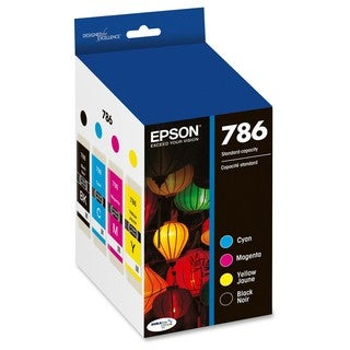 Epson DURABrite Ultra 786 Ink Cartridge - Black, Cyan, Magenta, Yello