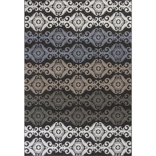 Christopher Knight Home Georgian Divine Damask Charcoal Area Rug (7'10x10'10)