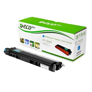 Ecoplus Brother EPTN210C Re-manufactured Cyan Toner Cartridge