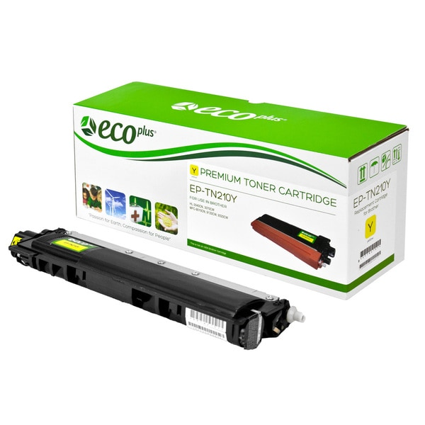 Copy of Ecoplus Brother EPTN210Y Re-manufactured Yellow Toner Cartridge