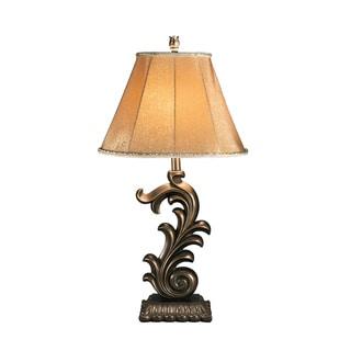 Signature Design by Ashley Eliza Bronze Table Lamp (Set of 2)