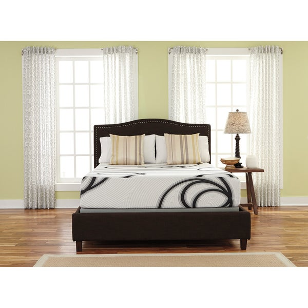 Sierra Sleep  Inch King Size Memory Foam Mattress Free Shipping