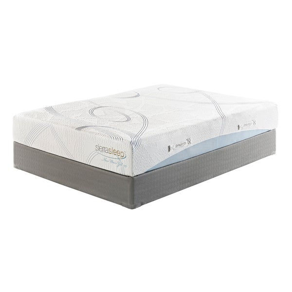 Sierra Sleep 10-inch Full-size Gel Memory Foam Mattress