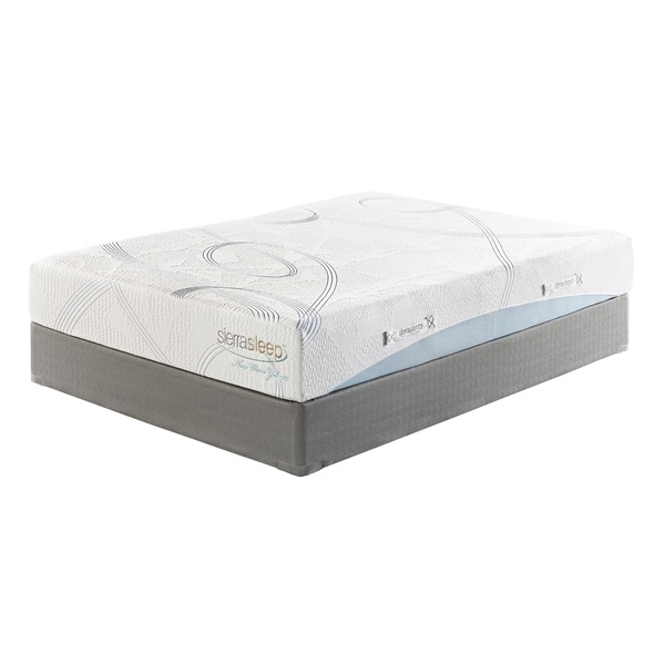 Sierra Sleep 10-inch Queen-size Gel Memory Foam Mattress