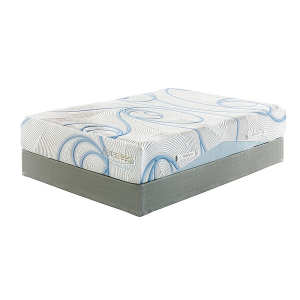 Sierra Sleep 12-inch Queen-size Gel Memory Foam Mattress