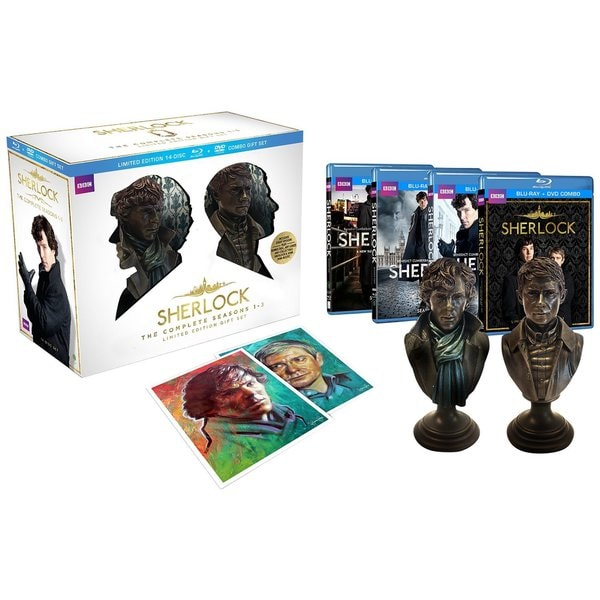 Sherlock: The Complete Seasons One Limited Edition Gift Set (Blu-ray Disc) 13950457