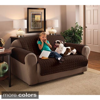 Suede Loveseat Furniture Protector