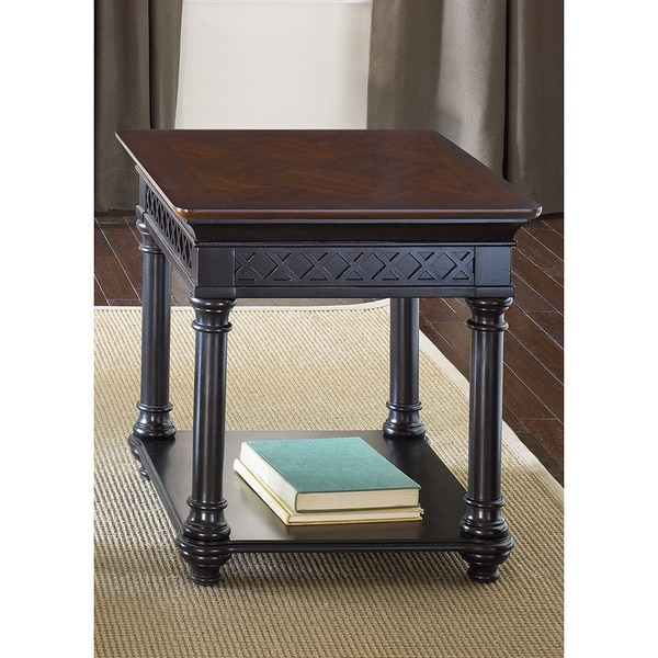 Liberty Chocolate and Cherry End Table