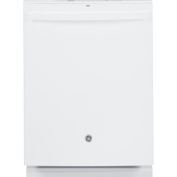 GE Fully Integrated White Dishwasher