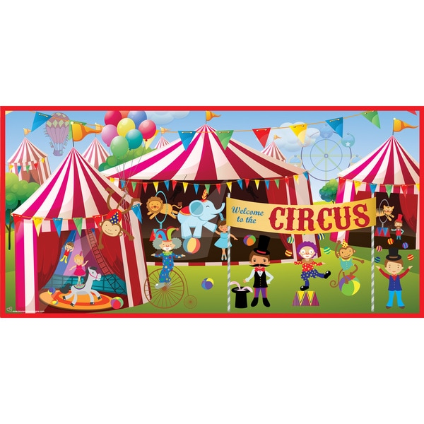 Share email for Circus wall mural