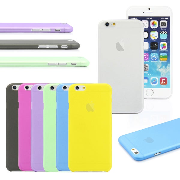 Ultra Thin Slim Matte Clear Case Cover for Apple iPhone 6