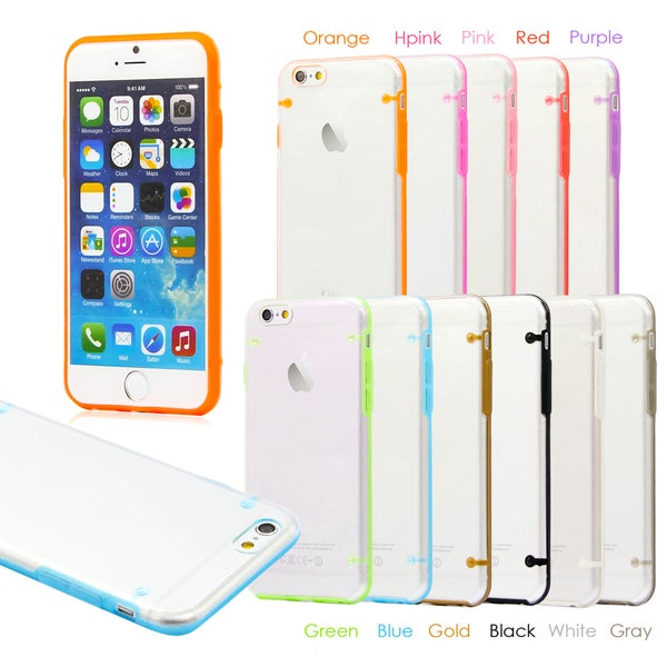 Gearonic Ultra Thin Glow in the Dark Case Cover for Apple iPhone 6 13951171
