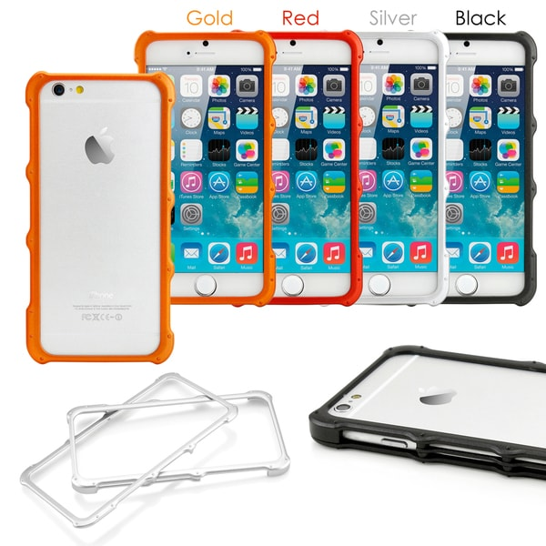 Gearonic Hard PC Protective Frame Bumper Case Cover for Apple iPhone 6