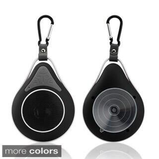 Gearonic Mini Waterproof Bluetooth Wireless Suction Speaker Shower