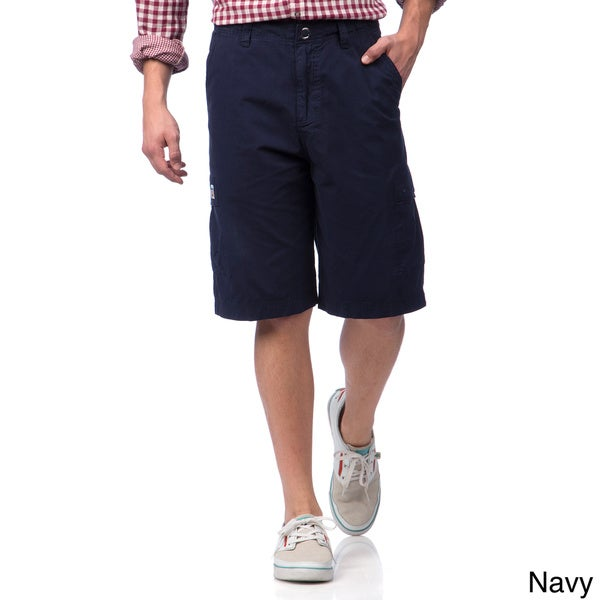 The Tropical Lifestyle Men's Cargo Bermuda Shorts