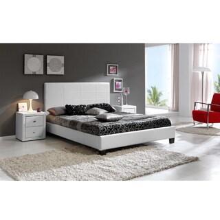 Baxton Studio Balthazar Upholstered Modern Platform Bed