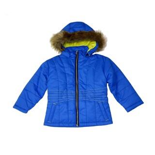 Mint Girls Bright Colbalt Bubble Jacket (Sizes 7-16)