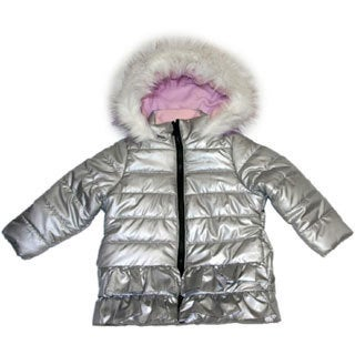 Mint Girl Toddler Silver Fashion Jacket