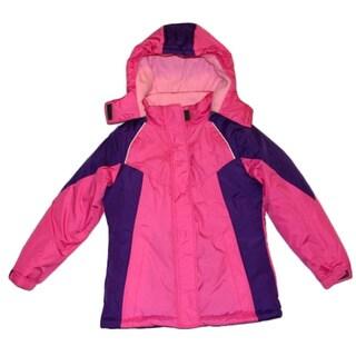 Mint Girl Fuchsia Snowboard Jacket (Sizes 4-6X)