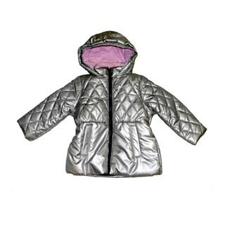 Mint Girl Infant Girls Silver Fashion Jacket