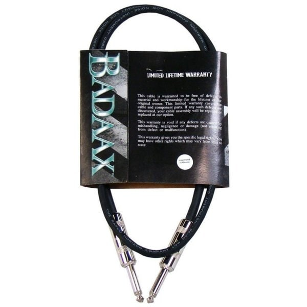 BadAax Straight Instrument Cable