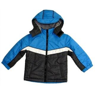 Northpoint Boys Iron Grey Bubble Jacket (Sizes 4-7)