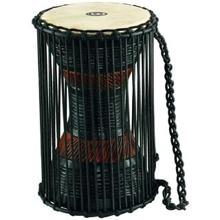 Meinl Percussion Mahogany Wood African Talking Drum