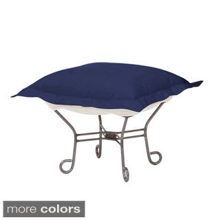 Starboard Patio Heavenly Ottoman with Titanium Frame