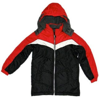 Northpoint Boys Black Bubble Jacket (Sizes 8-18)