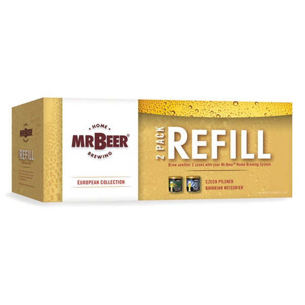 Mr Beer European Collection (2 Pack Refill)