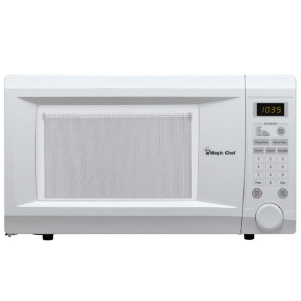 Countertop Microwave For Sale : Magic Chef MCD1110WB White Countertop Microwave - 16612340 - Overstock ...